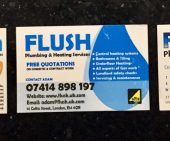 Flush Business Cards